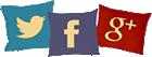 twitter facebook google+