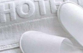 Kapcie białe - tekstylia hotelowe mabotex