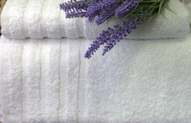 Mabotex - ręczniki hotelowe białe gładkie