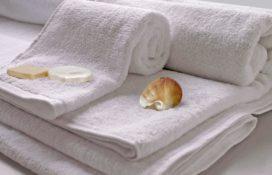 Mabotex ręczniki białe hotelowe gładkie