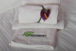 Ręczniki hotelowe białe | Konfekcja Hotelowa Mabotex